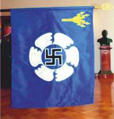 Das Emblem der finnischen Luftwaffe